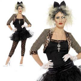Disfraz Madonna años 80 deluxe