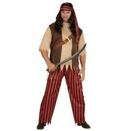 Disfraz pirata sencillo hombre