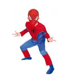 Disfraz spiderman musculos eva
