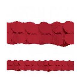 Guirnalda roja 3,65m