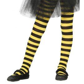 Medias rayas negras y amarillas de 5 a 9