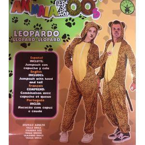 Disfraz leopardo adulto