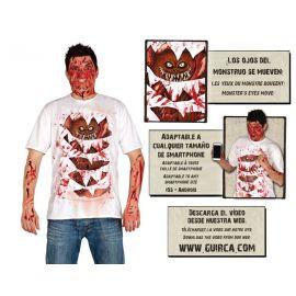 Camiseta monstruo adulto app