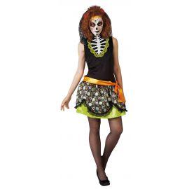 Disfraz katrina dia de los muertos