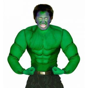Camisa musculos verdes adulto