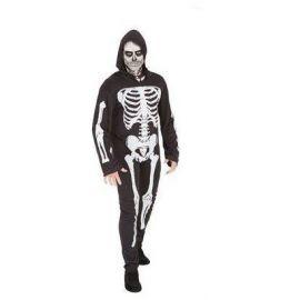 Disfraz eskeleto adulto