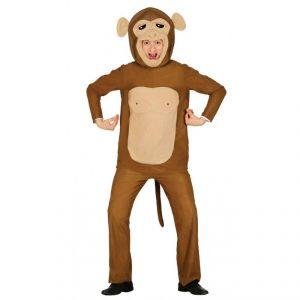 Disfraz mono marron adulto