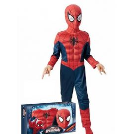 Disfraz spiderman ultimate musculoso infantil