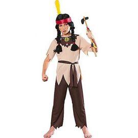 Disfraz guerrero indio