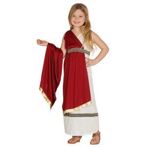 Disfraz romana capa roja