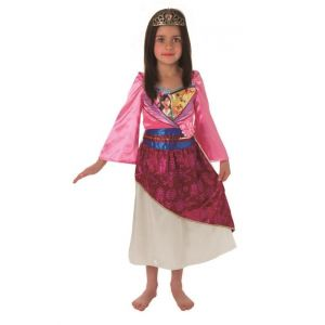 Disfraz princesa Mulan niñas de 3 a 8 años