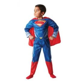 Disfraz Superman musculos caja