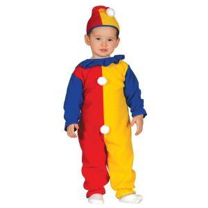 Disfraz payaso baby de 6 a 12 meses