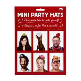 Kit mini sombreros desmontables 6 und