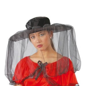Sombrero pamela viuda