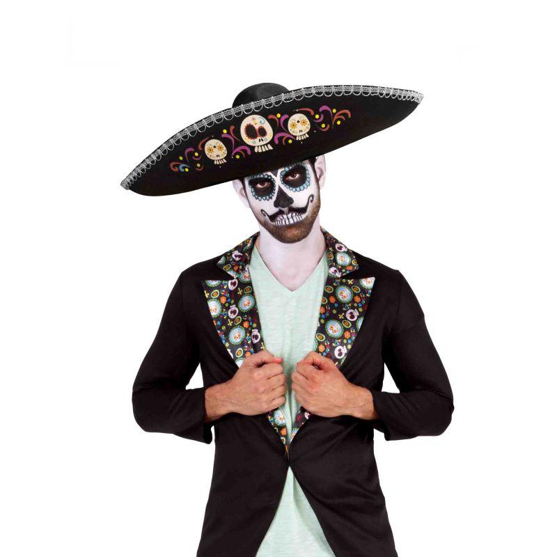 ce698dd02c54d Como Hacer Sombrero De Catrina Catrinas Con Sombrero Charro ...