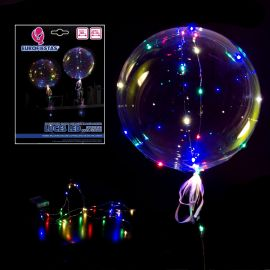 Globo burburja luces led