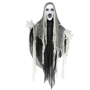 Fantasma siniestro cabeza y manos luces