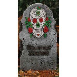 Lápida calavera 66x36