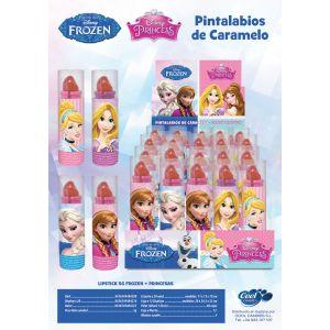 Pintalabios caramelo princesas