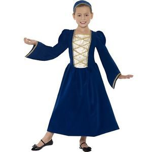 Disfraz princesa tudor infantil