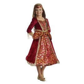 Disfraz princesa medieval lira infantil