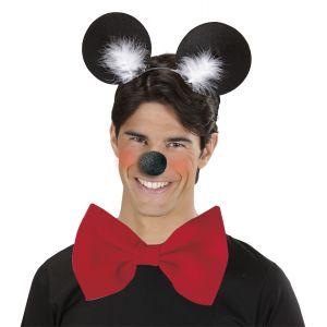 Diadema raton negra