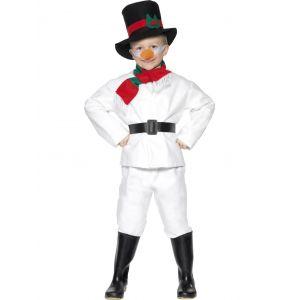 Disfraz muñeco nieve deluxe niños de 4 a 12 años