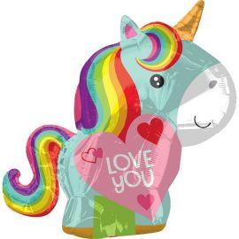 Globo helio unicornio love