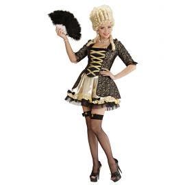 Disfraz reina barroca negra