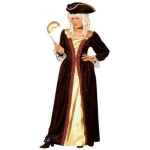 Disfraz noble veneciana adulto