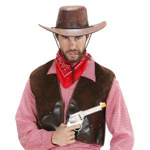 Sombrero vaquero simil piel