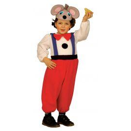 Disfraz raton 2-3 y 3-4 años
