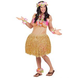 Disfraz belleza hawaiana