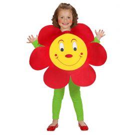 Disfraz flor inf 3-5