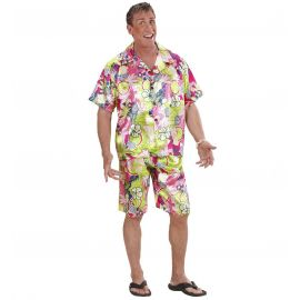 Disfraz hawaiano profesional