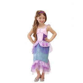 Disfraz sirena lila
