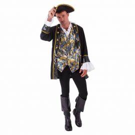 Disfraz pirata rubies adulto