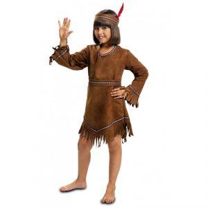 Disfraz india sencilla marron