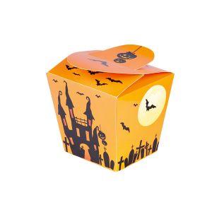 Pack 4 cajitas halloween