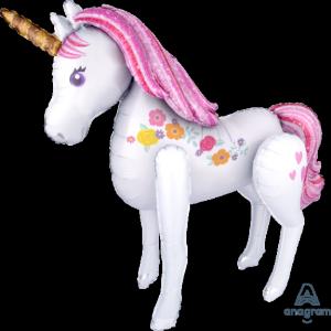 Globo helio gigante unicornio