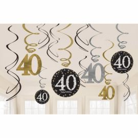 Kit decoracion 40 cumple