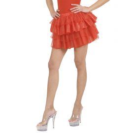 Falda fantasia roja