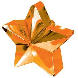 Peso saquito estrella naranja