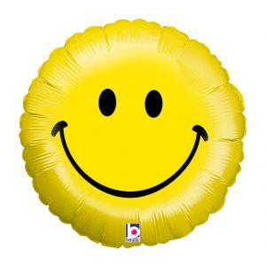 Globo helio emoticono sonrisa (NO)