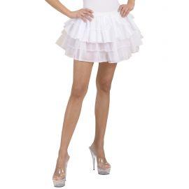 Falda fantasia blanca