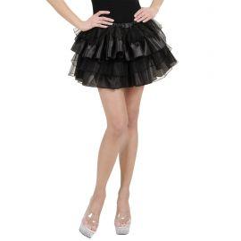 Falda fantasia negra