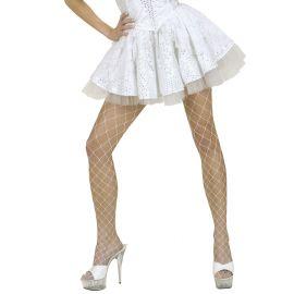 Falda blanca lentejuelas