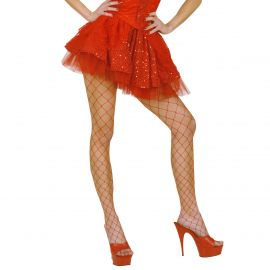 Falda lentejuelas rojas