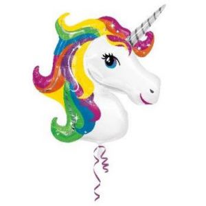 Globo helio unicornio